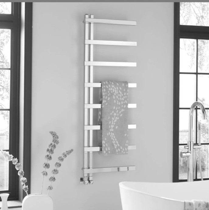 Keys II - wall mounted towel warmer by Vogue UK
