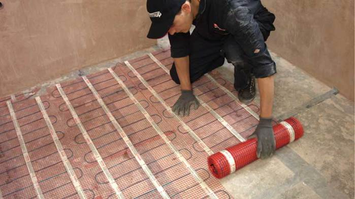 Under Tile Warming - Excel Plumbing Supplies