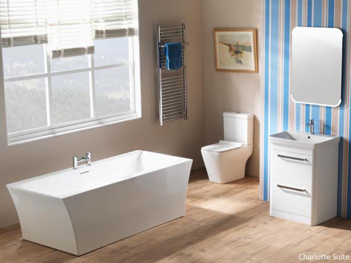 Charlotte Bathroom Suite by Qualitex - Excel Plumbing